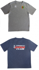 Coventry Judo T-shirts